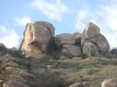 Rock Climbing Photo: West Summit Blocks.