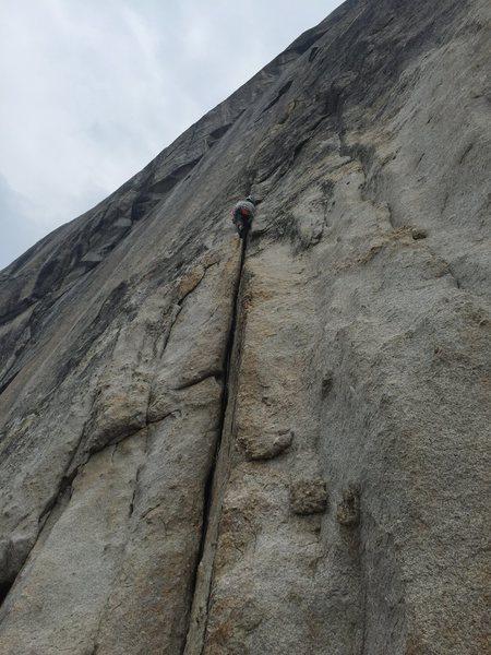 Rock Climbing Photo: (Annoyed Grunt) 5.7