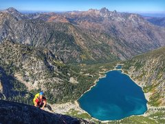 Rock Climbing Photo: You can't beat the views from belays.