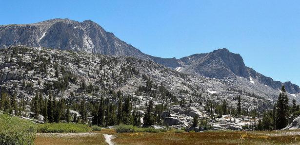 Mt. Crocker is the big mass on the left.