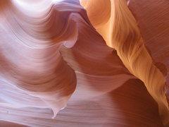 Rock Climbing Photo: Natural slot canyon