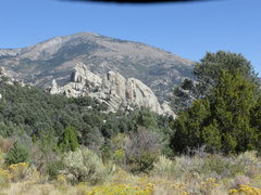 Rock Climbing Photo: View to the North from the main parking area for t...
