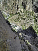 Rock Climbing Photo: Pitch 1 variation. Pitch 1 & 2 variations have to ...