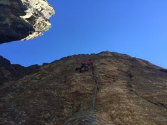 Rock Climbing Photo: 3 hours after I took this photo, Hirsch clipped th...