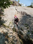Rock Climbing Photo: Amphitheatre Crack