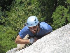 Rock Climbing Photo: Eric Fergen on lead, Inferno