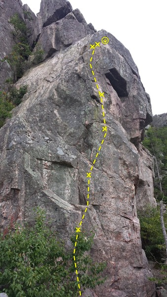Rock Climbing Photo: 5.10 Overhang