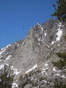 Rock Climbing Photo: The Diamond on Two Eagle Peak