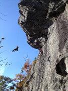 Rock Climbing Photo: Giant Man Rumney