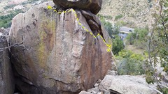 Rock Climbing Photo: Another view, this photo showing the arete, and th...