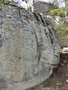 Rock Climbing Photo: The Crescent.