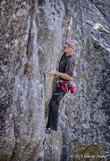Rock Climbing Photo: Sending Sinopia, 13a, on my 56th birthday.  Photo ...