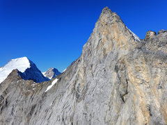 Rock Climbing Photo: Mittellegi Ridge in early daylight.