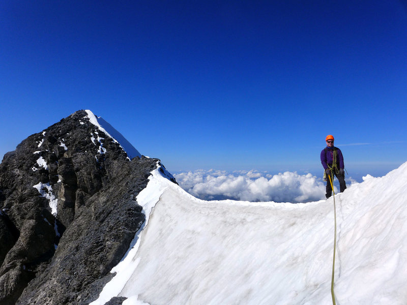 Eiger. Summit ridge.