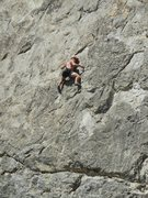 Rock Climbing Photo: Hot day on Winter Wall