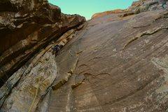 Rock Climbing Photo: Into the chimneys...