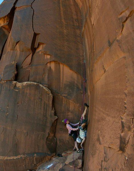 Rock Climbing Photo: Whipper.