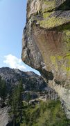 Rock Climbing Photo: view of the business of the route