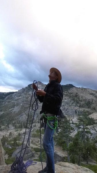 Rock Climbing Photo: slabs proper