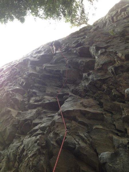 Trunk monkey 12a, chekeamus canyon, squamish