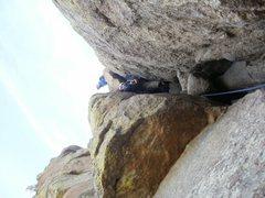 Rock Climbing Photo: Final Pitch / Class 5 Scrambel Durrance