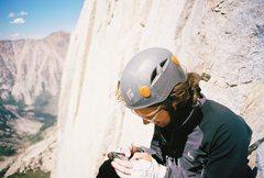 Rock Climbing Photo: Reading the topo