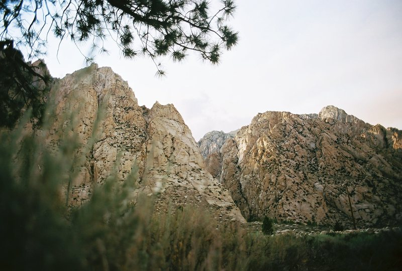 Rock Climbing Photo: Pine Creek Canyon