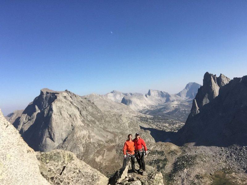 Rock Climbing Photo: Summit of Pingora