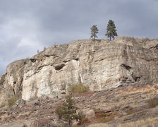 Rock Climbing Photo: Weeping and 5.13 Walls from the SW