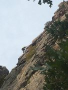 Rock Climbing Photo: TDA on super8