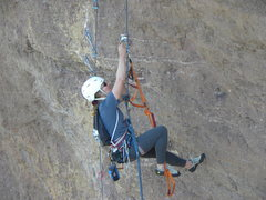 Rock Climbing Photo: Monkey Face Aid Portion