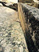 Rock Climbing Photo: Left Face of Eve