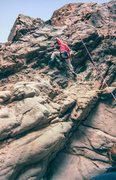 Rock Climbing Photo: George Smith on TR. Courtesy of Adam Pierce photo ...