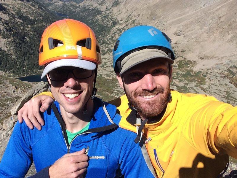 Summit Selfie on Spearhead