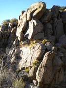 Rock Climbing Photo: The Rappel Rock - at the very entrance to the cany...