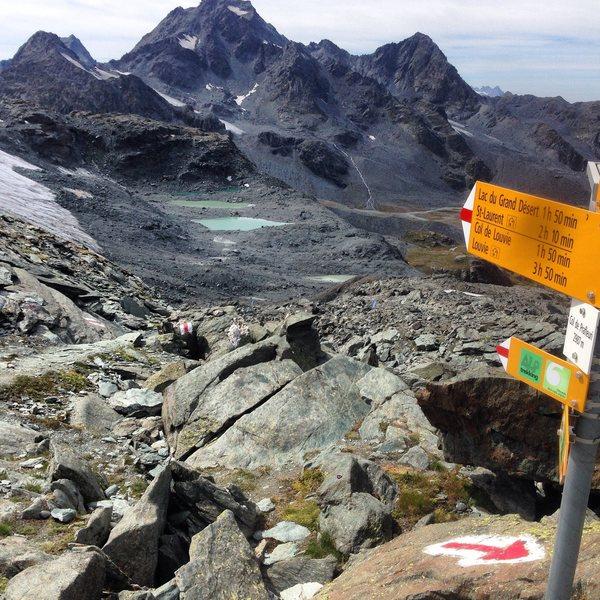 Mont Blanc to the Matterhorn: A walk in the Swiss Alps
