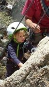 Rock Climbing Photo: Girls just wanna have fun!