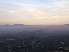 Rock Climbing Photo: Overlooking Ramona from Mt. Woodson