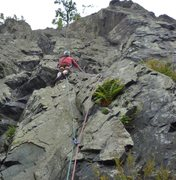 Rock Climbing Photo: P.Ross on the 30th Aug 2015. The 60th anniversary ...