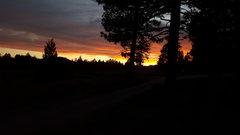 Rock Climbing Photo: Another epic sunset at HVP