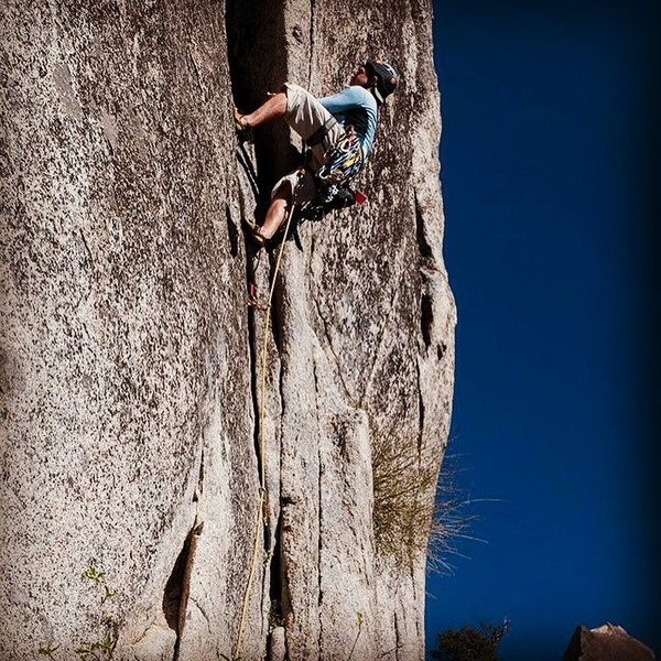 Rock Climbing Photo: Climbing in South Tahoe, Phantom Spires