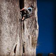 Rock Climbing Photo: Climbing in South Tahoe, Phantom Spires