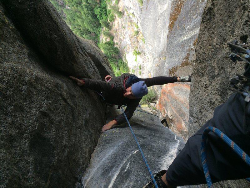 Rock Climbing Photo: Pressure Chamber