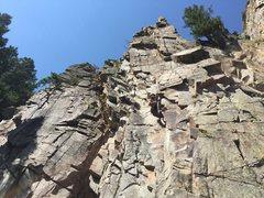 Rock Climbing Photo: Been Caught Stealin'.