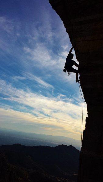 Steve's Arete (11a), Mt. Lemmon, Tucson, AZ