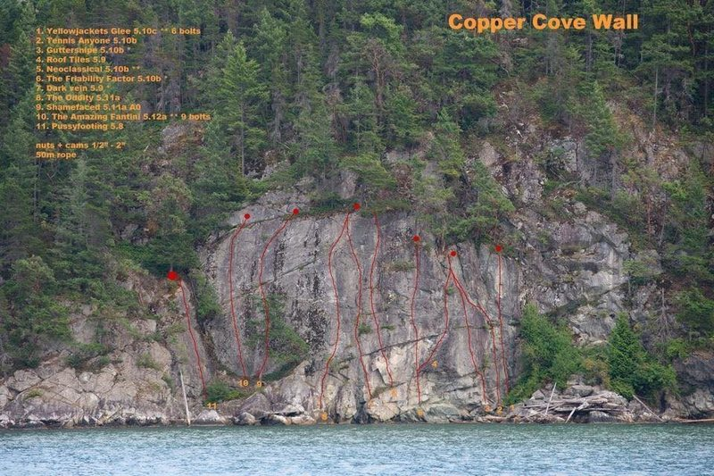 Supratidal Zawn (Copper Cove wall)