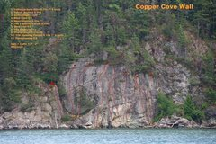 Rock Climbing Photo: Supratidal Zawn (Copper Cove wall)