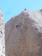 Rock Climbing Photo: Enjoying the movement on Pick Pocket.