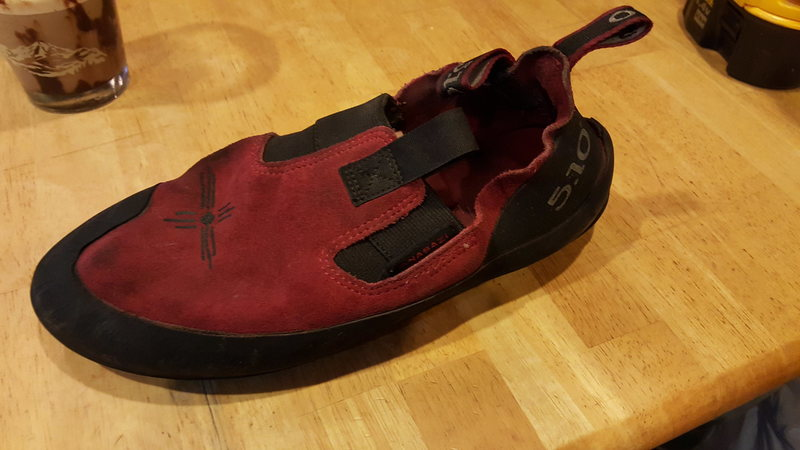 shoe too.