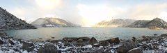 Rock Climbing Photo: Lago Leones